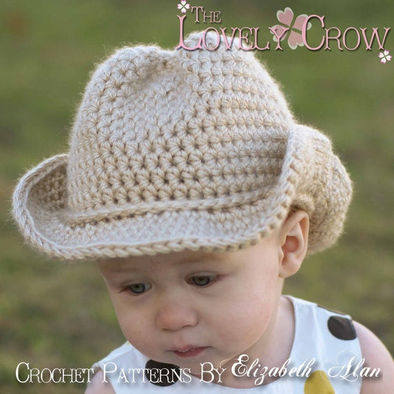 Baby Cowboy Crochet Pattern Cowboy Hat for BOOT SCOOT N  029cb10bcd6