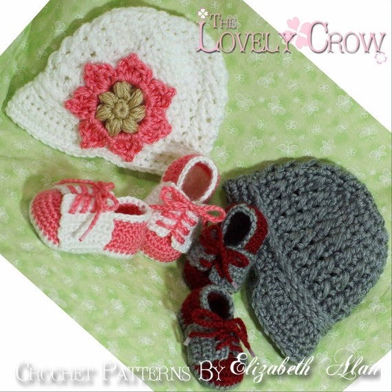 New Baby Crochet Pattern Includes Little Sport Newsboy Hat And Etsy