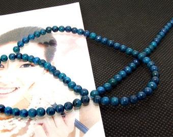 "Loose Gemstone malachite gemstone 4mm bead full 2strands 15.5"""