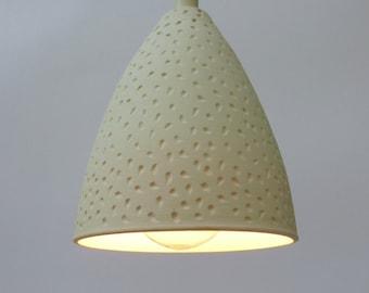 Porcelain pendant etsy porcelain pendant lamp aloadofball Choice Image