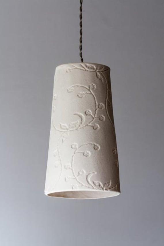 hanging lamp Big Fancy porcelain