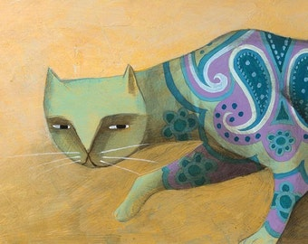 The Pattern Cat by Carlos C Lainez