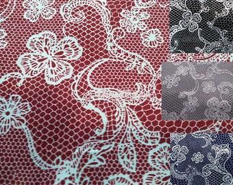 Image of lace, 1/2 yard, pure cotton fabric