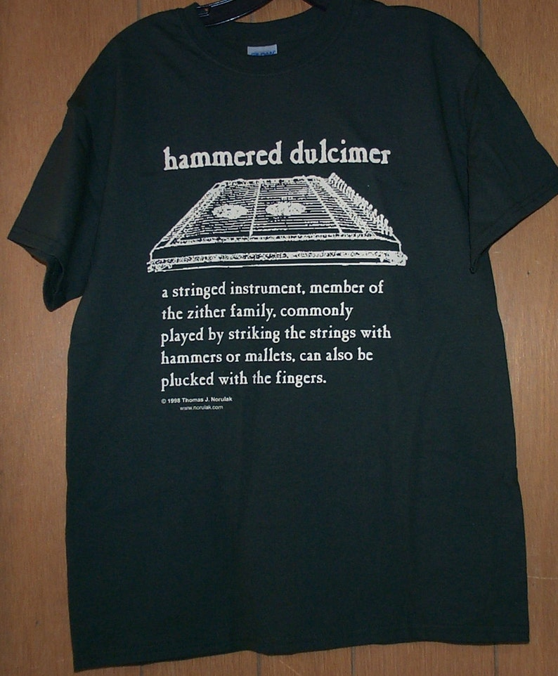 Hammered Dulcimer Definition T-Shirt image 0