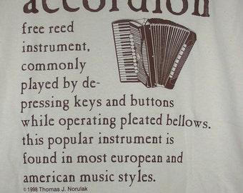 Accordion Definition T Shirt