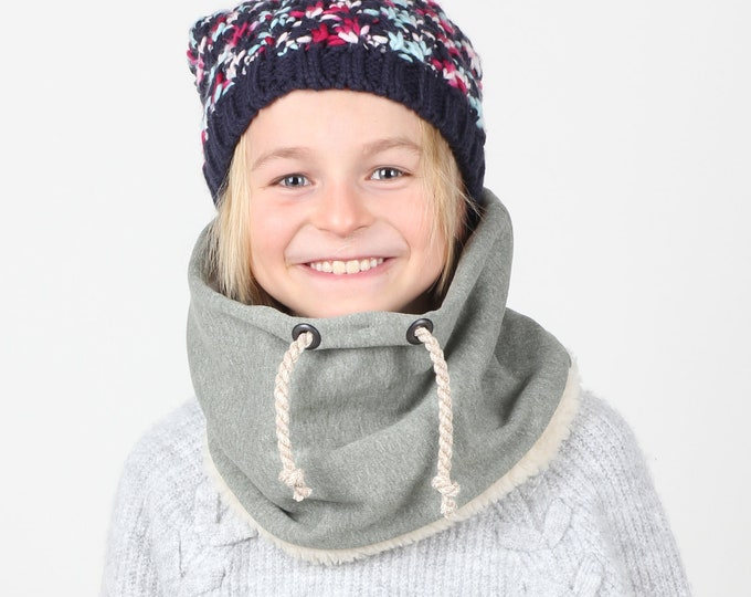 Super Cozy Kids Neck Warmer, Unisex Kids Scarf, Children's Warm Scarf, Snood Scarf, Girl's Winter Scarf, Boy's Winter Scarf, Birthday Gift