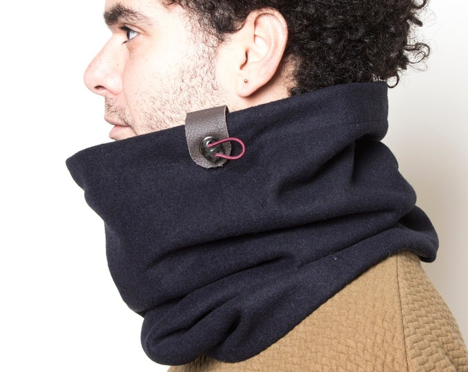 Men's cowl scarf mens gift outdoors gift, scarf men wanderluster gift for outdoor lovers Snock