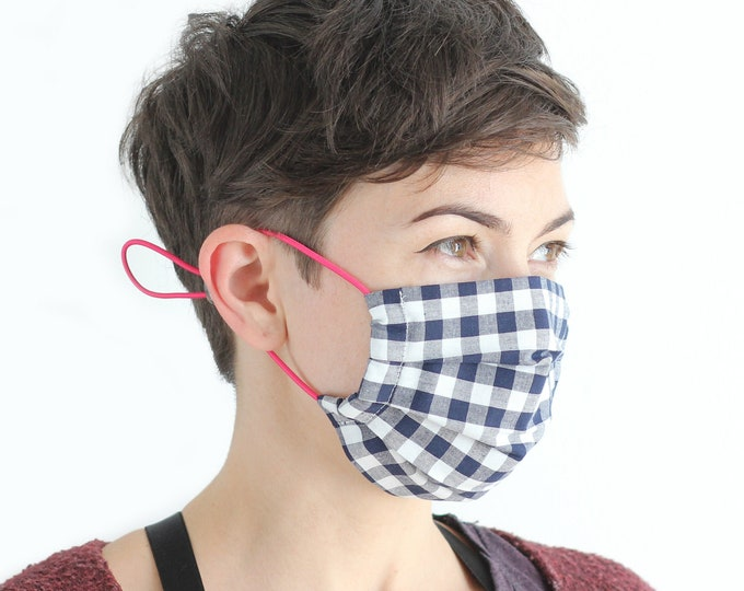 Face mask with HEPA filter, protective mask, reusable mask, cotton mask, mouth and nose guard
