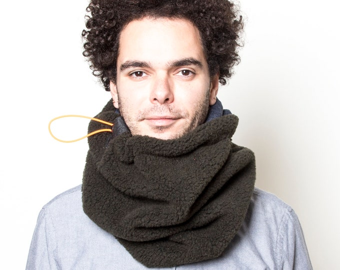 Super Warm Chunky Cowl Scarf, Handmade Winter Scarf, UNISEX Scarf, Snood Scarf, Men's Scarf, Women's Scarf, Gift for Him, Gift for Her