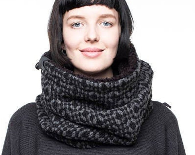 Chunky Scarf for Winter, UNISEX Cowl Scarf, Infinity Chunky Cowl, Winter Fashion Accessories, Christmas Gift, Gift for Him, Gift for Her