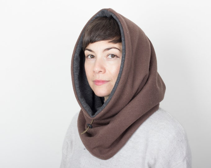 Extra thick Cowl Scarf, Super Soft Scarf, Infinity Scarf, Snood Scarf, Hooded Scarf, Warm Scarf - outlet