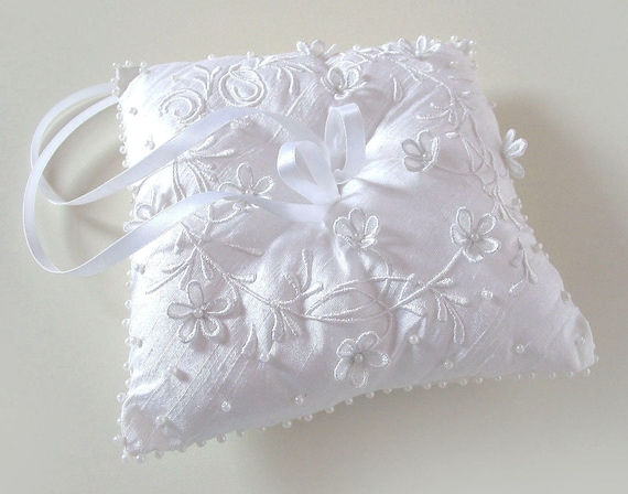 Custom embroidery 4/'x4/' LR17 Heart wedding pillow ring bearer pillow Me /& You Embroidered Wedding ring pillow personalized  ring pillow