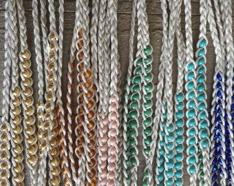 Classic Friendship Bracelet- 16 Bead Colors & 3 Size Options