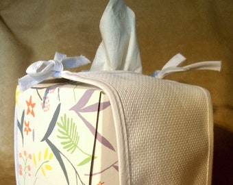 Stitchable Tissue Box Cover from Charles Craft