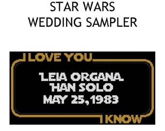 Star Wars Wedding Sampler