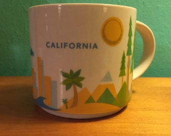 a07a38a76a3 Starbucks You Are Here Collection California 2013 Coffee Mug