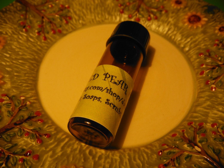 Spiced Pear Cake Parfum Huile Dram De lou Lou's Soaps