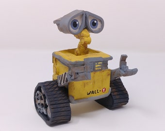 Wall-E Sculpture - Hollywood Fan Art Movie Decoration - Nerd Gift - Cartoon Character - Gift for Kids - Birthday Gift