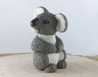 Koala Bear Sculpture - Statue - Figurine - Window Sill Ornament Decoration