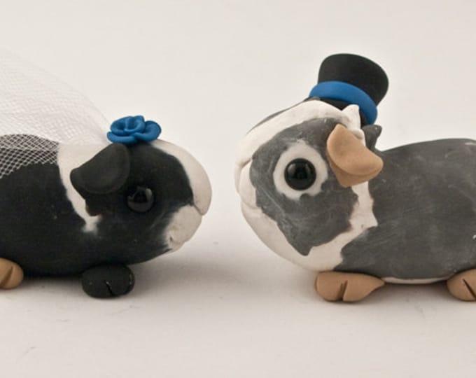 Guinea Pigs Wedding Cake Topper
