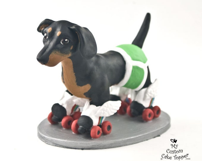 Dog Wedding Cake Topper - Custom Dog Figurine - Any Breed