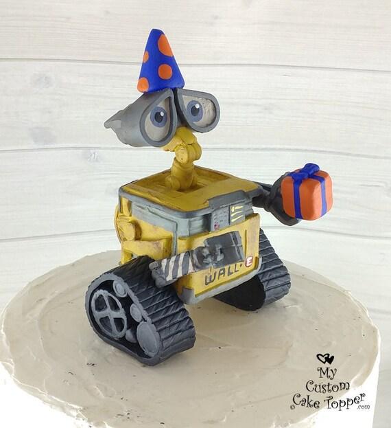 Wall E Birthday Cake Topper