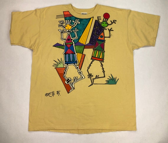Hand Painted Ellison Fickinger Designs T-Shirt
