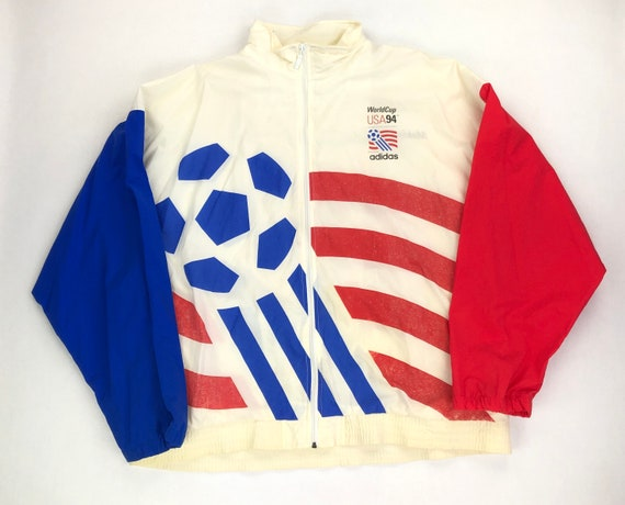 Vintage USA Soccer Windbreaker