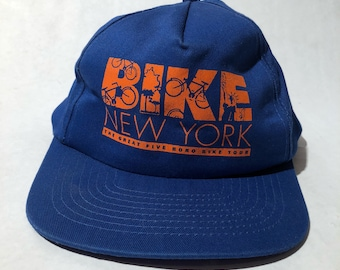 Vintage Bike New York Snapback Hat