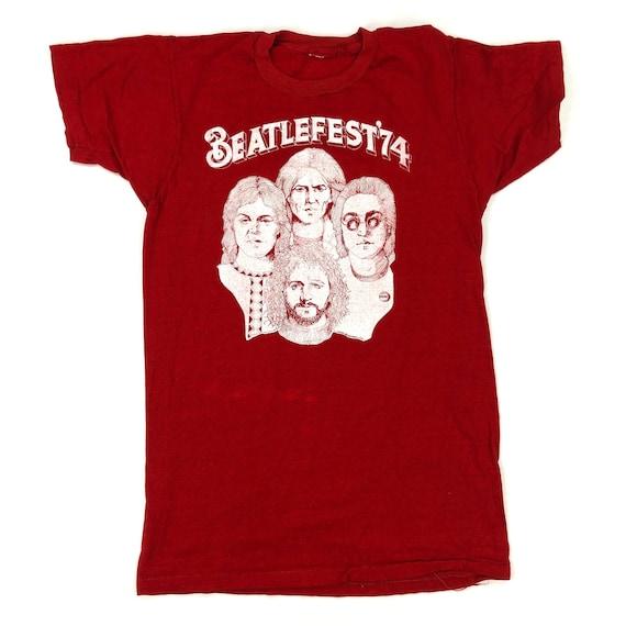 Vintage Beatles 1974 Beatlefest T-Shirts