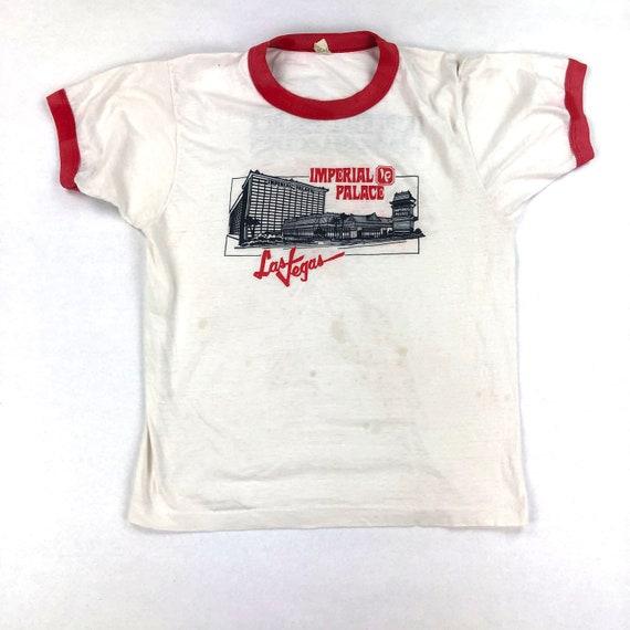 Vintage Imperial Palace Las Vegas Ringer T-Shirt