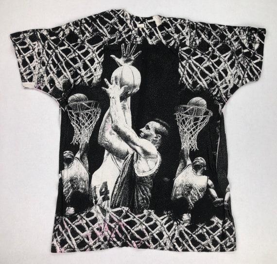 Vintage Basketball All Over Print T-Shirt
