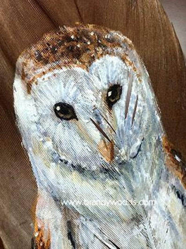 BARN OWL Medicine Smudge Feather Shamanism Native American ...