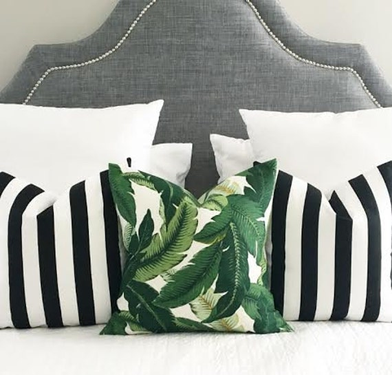 Indoor Outdoor Decorative Pillow Covers Summer Pillows Etsy