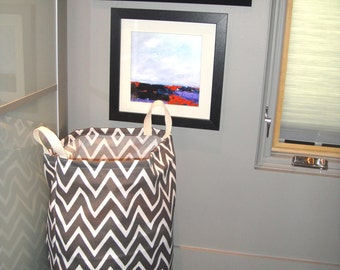 Bag, Laundry Tote, Reusable Bag, Large Laundry Bag, Laundry Carrier, Recycling Bag, Available In Three Colors