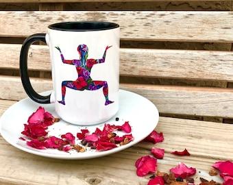 Kalyasana - Goddess Posture- I Paint the Body Electric - Mug