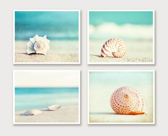 Art Cotier Seashells Framed Mur Plage Par Collections Etc