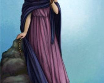 Mnemosyne Prayer Card