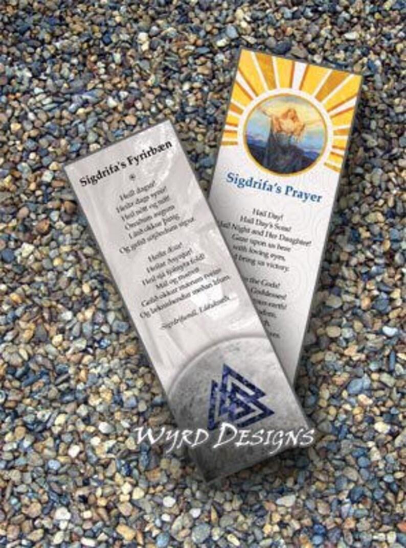 Sigdrifa's Prayer Book-mark image 0