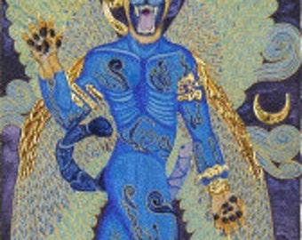 Pazuzu Prayer Card
