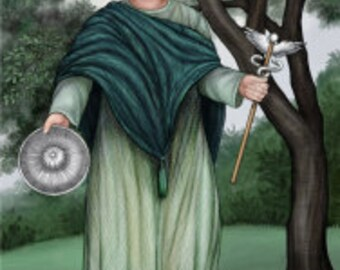 Rosmerta Prayer Card