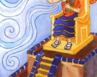 Enlil Prayer Card