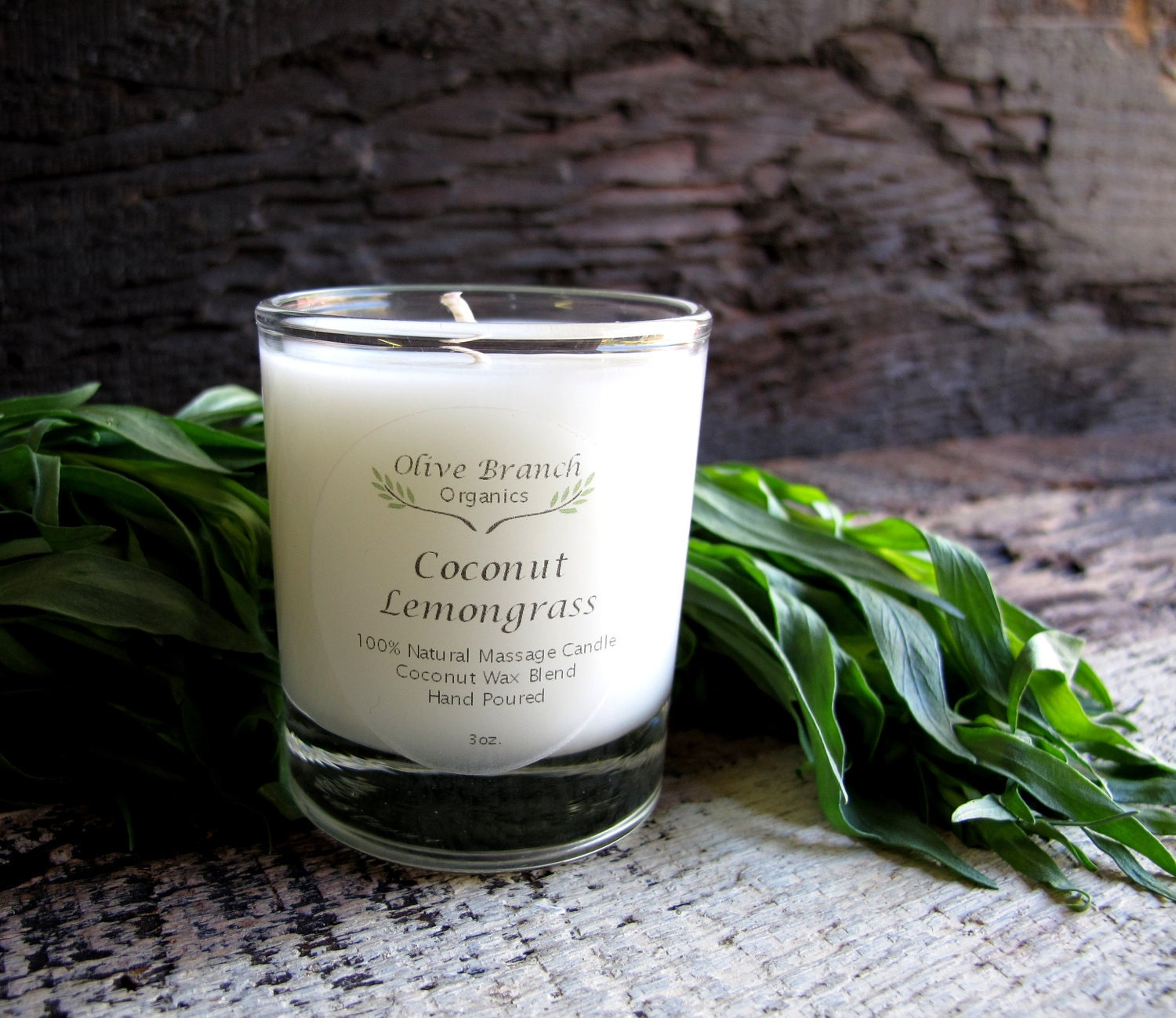 VOTIVE Candle Coconut Wax Candle With Essential Oils All