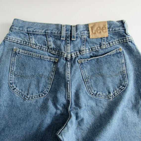 Vintage Lee Jeans/ Vintage Denim / High-waisted Je