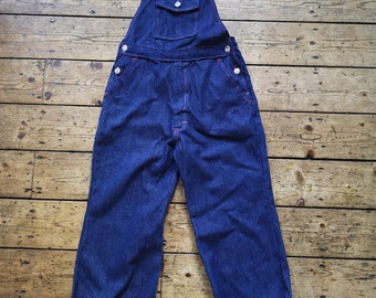 818dad5a8fce Girls vintage clothes Age 14 dungarees denim xs adult teen trousers summer  bohemian clothing summer folk boho Dolly Topsy Etsy UK