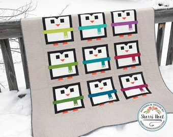 The Big Chill ~ Penguin Quilt Pattern