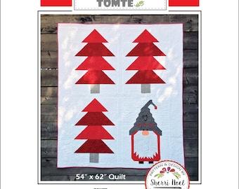 Christmas Quilt Pattern ~ Scandinavian Tomte