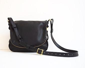 Black Purse, Black Bag, Black Leather Purse, Black Leather Bag, Tom Ford, Leather Crossbody bag, Jennifer Purse, Jennifer Bag,