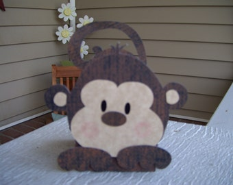 Monkey Favor Box Set of 12  with Free Shipping