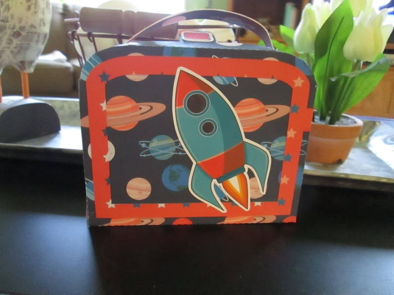 Spaceship Large Lunch Box Set of 14 with Free Shipping